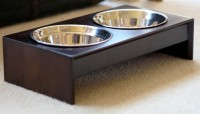 Elevated Pet Bowl Holder by PetFusion