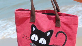 red-cat-purse-vert