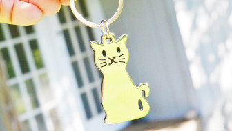 Win a Smiling Cat or Smiling Dog Key Ring!