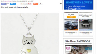 We're in the Cat Channel Gift Guide!