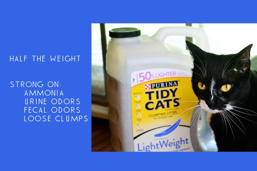 Tidy Cats LightWeight 4 In 1 Strength Litter Lightens the