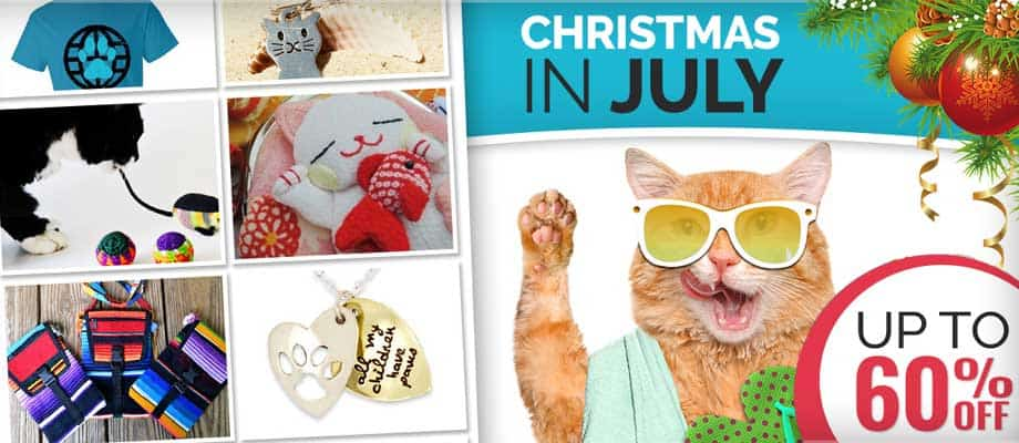 Save Up to 60% at our Christmas in July Sale!