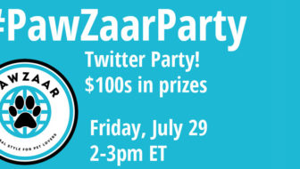 How to Participate in Our #PawZaarParty #TwitterParty This Friday!