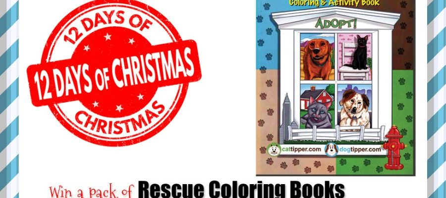 Day 5: Win Our Rescue Coloring Books or Buy for Just $1! #Dealoftheday