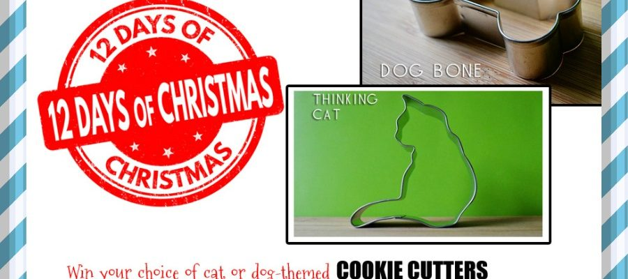 Day 4: Win Cat-Themed Cookie Cutters! #DealoftheDay