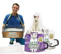 Cats Incredible Spokesperson to Race–with a Litterbox!