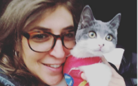 The Big Bang Theory's Mayim Bialik Adopts Cat with Special Needs