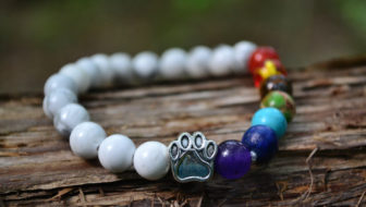 Win a Paw Stretch Bracelet in Summer White!