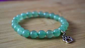 GIVEAWAY: Win a Green Aventurine Paw Stretch Bracelet!