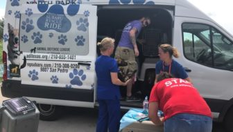 Lucy Pet Products Travels to Help #HurricaneHarvey Animals