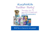RSVP for the #LucyPet4Life #TwitterParty!
