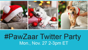 RSVP for #PawZaar Twitter Party – $100s in prizes!