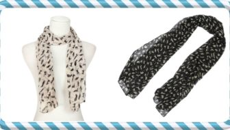 Win a Cat Chiffon Scarf Set!